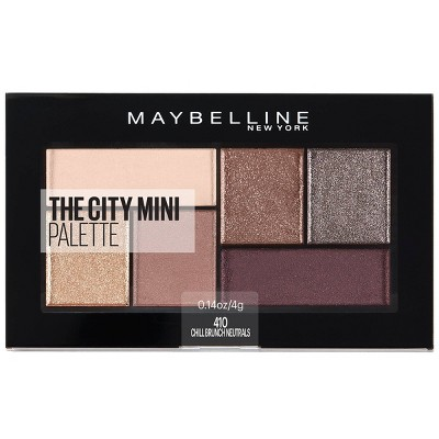 Maybelline City Mini Eyeshadow Palettes - 0.14oz
