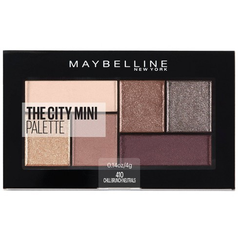 Maybelline City Mini Eyeshadow Palettes - 0.14oz - image 1 of 4