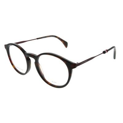 Tommy Hilfiger TH 1471 086 Unisex Round Eyeglasses Dark Havana 50mm