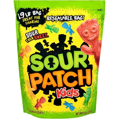 Sour Patch Kids Soft and Chewy Candy - 1.9lbs