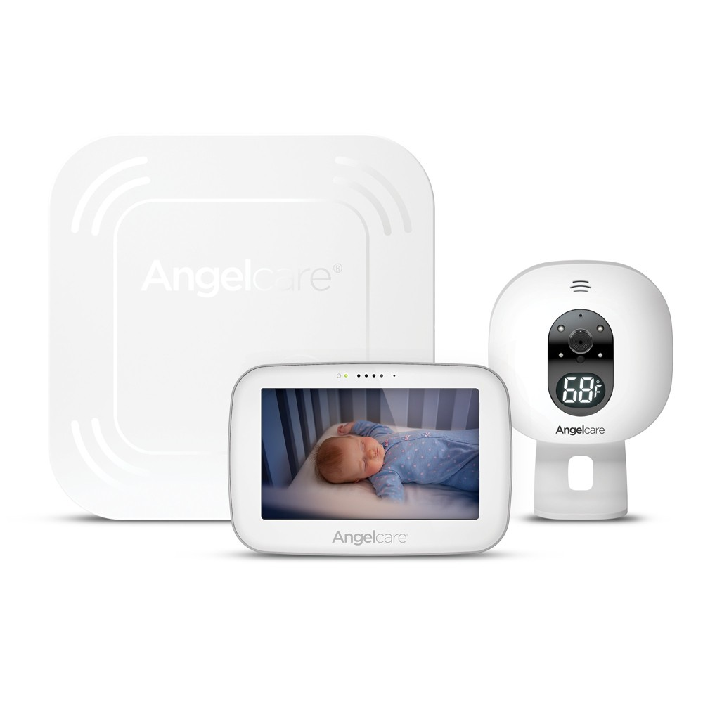 Image of Angel Care Breathing Movement and Video Baby Monitor - AC517