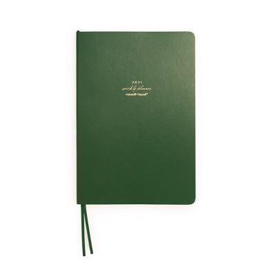 2021 Planner Weekly Green - russell+hazel