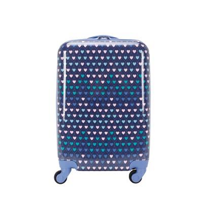 """Crckt 21"""" Kids' Hardside Carry On Spinner Suitcase"""
