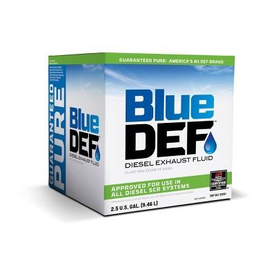 Blue Def 2.5gal Diesel Exhaust Fluid
