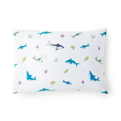 Shark Attack 100% Cotton Hypoallergenic Pillow Case - WildKin