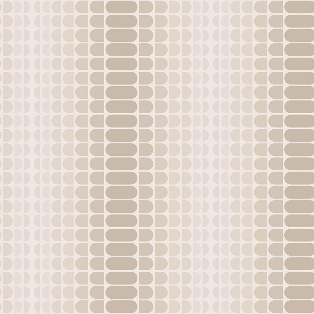 Geometric Gradient Greige Self Adhesive Removable Wallpaper - Tempaper, Multi-Colored