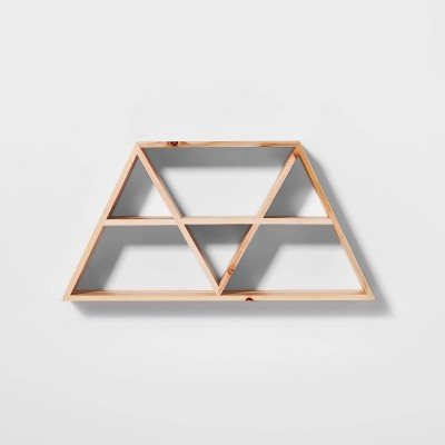 "12""x23.5"" Triangles Shelf - Pillowfort™"