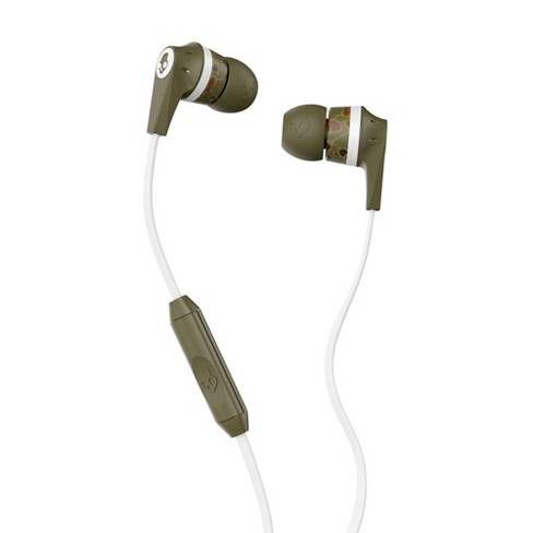 Skullcandy Ink D Earbuds With Microphone Camo Target