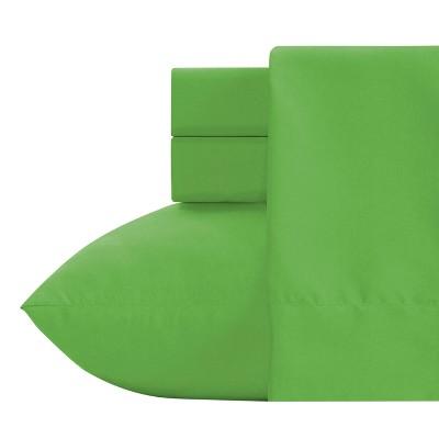 Crayola Green Microfiber Sheet Set (Twin) 3pc