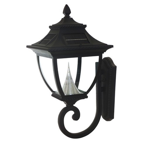Gama Sonic Pagoda Solar LED Wall Light - image 1 of 1