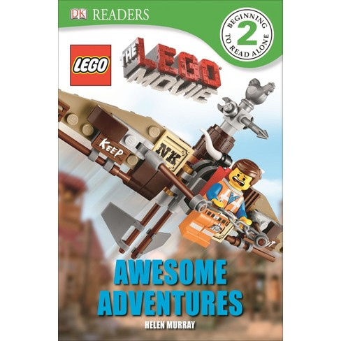 DK Readers: The LEGO Movie: Awesome Adventures (Paperback) by Helen Murray - image 1 of 1