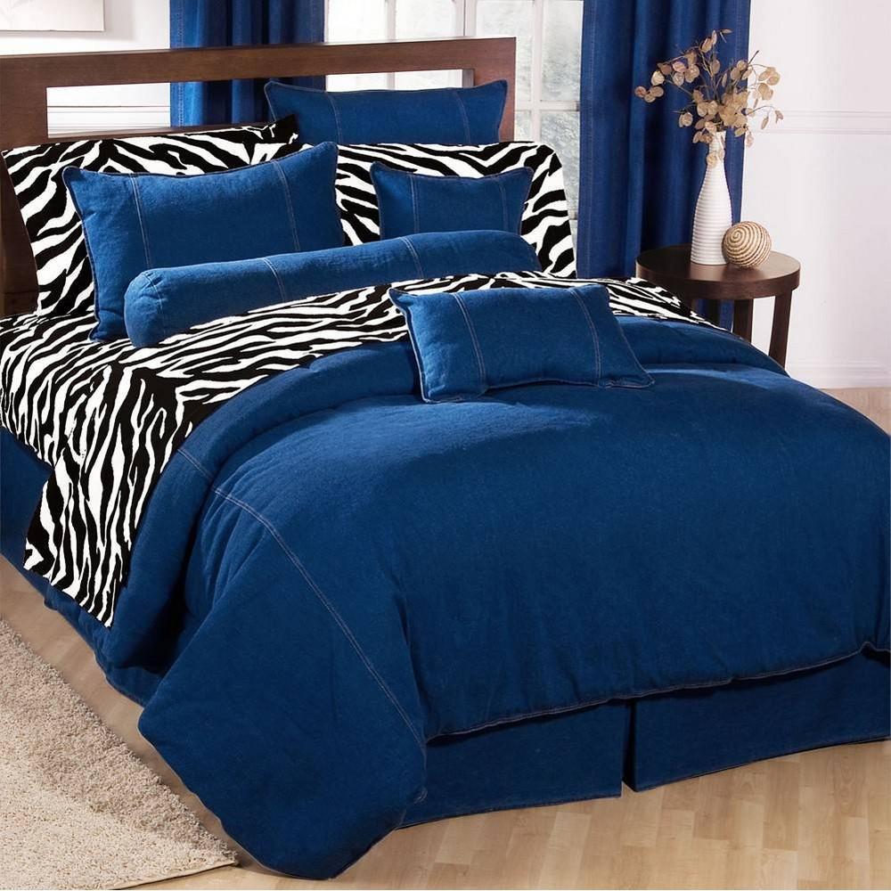 Image of Blue American Denim Duvet Cover King - Karin Maki