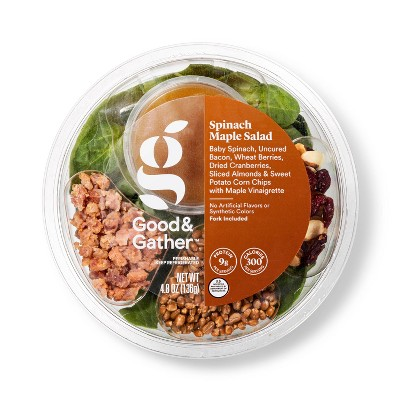 Spinach Maple Salad Bowl - 6.5oz - Good & Gather™