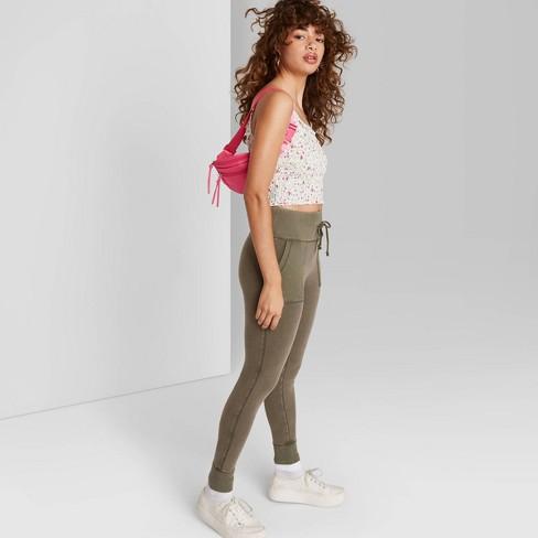 Women's High-Waisted Pocket Leggings - Wild Fable™ - image 1 of 3