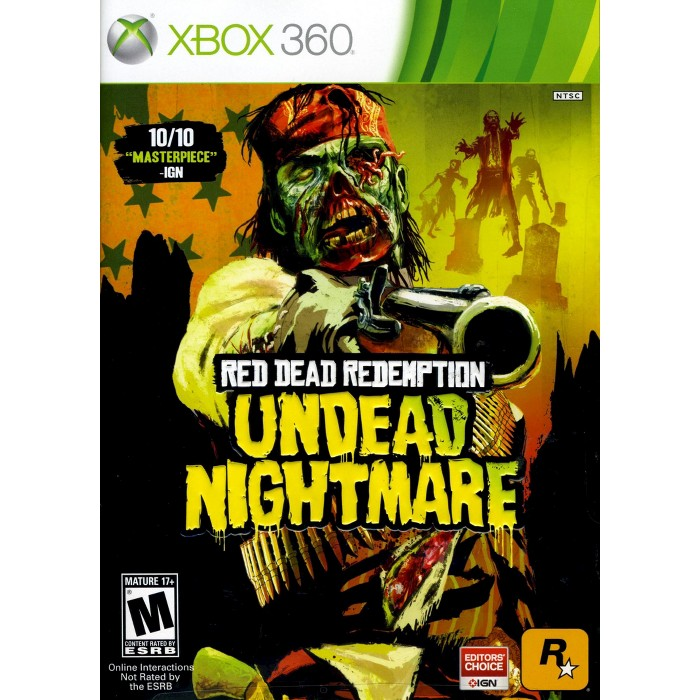 Red Dead Redemption: Undead Nightmare PRE-OWNED Xbox 360 - image 1 of 1