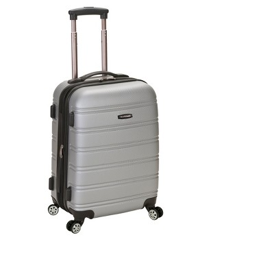 """Rockland Melbourne 20"""" Expandable ABS Carry On Suitcase"""