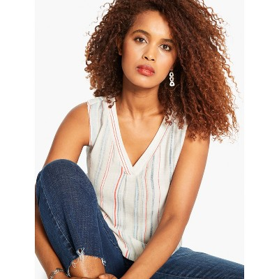NIC+ZOE Women's Seaside Stripe Tank