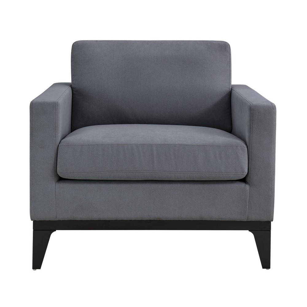 Image of Chester Large Chair Gray - Lifestyle Solutions