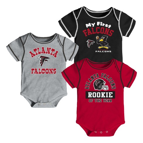 c9b500ea NFL Atlanta Falcons Boys' Newest Fan 3pk Bodysuit Set