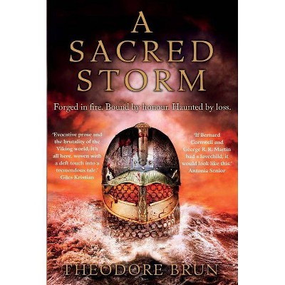 A Sacred Storm - (Wanderer Chronicles) by  Theodore Brun (Paperback)