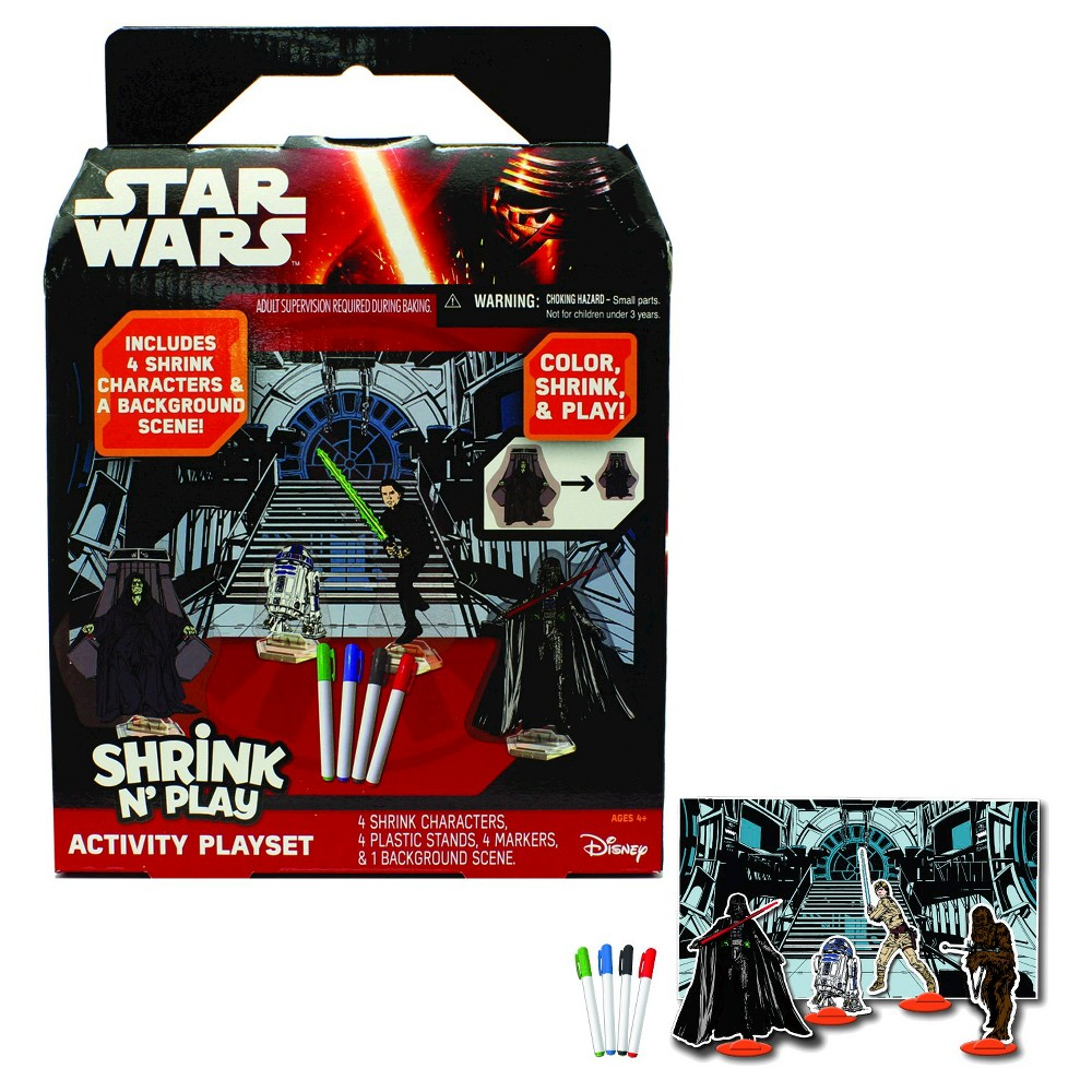 Star Wars Shrink Art, Craft Activity Kits
