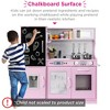 Best Choice Products Pretend Play Kitchen Wooden Toy Set for Kids with Telephone, Utensils, Oven, Microwave - image 2 of 4