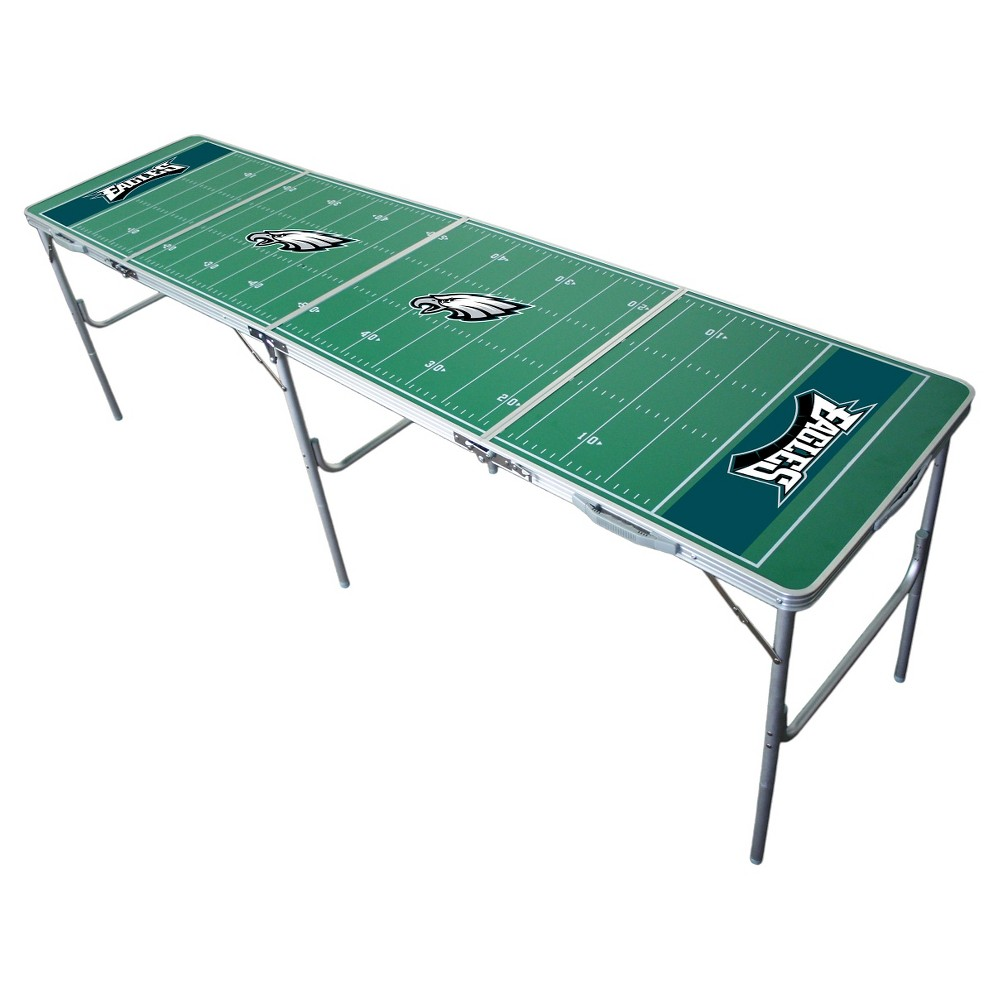 NFL Philadelphia Eagles Tailgate Table - 2'x8', Multi-Colored
