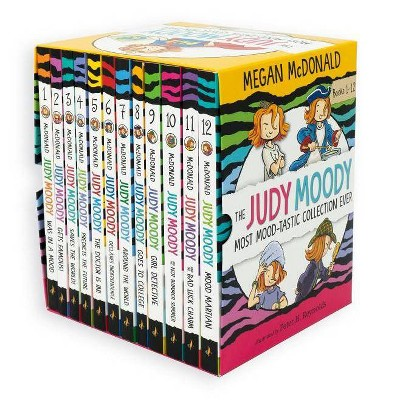 The Judy Moody Most Mood-Tastic Collection Ever - by  Megan McDonald (Mixed Media Product)