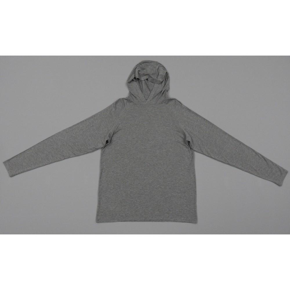 Hanes Men 39 S Hooded Athletic Pullover Light Gray Heather Xl