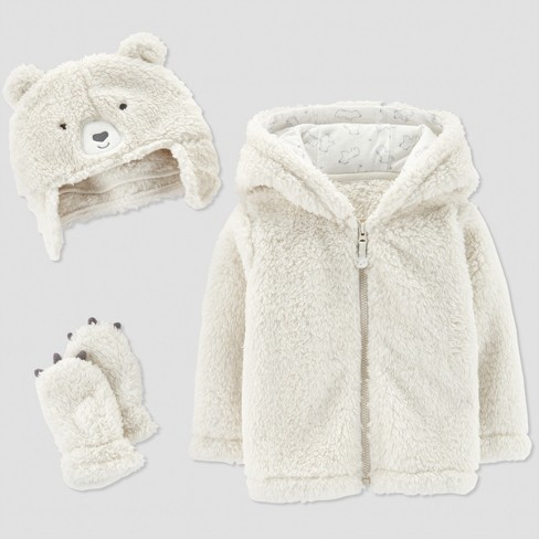 507edeb63 Baby s Fleece Bear Jacket Set - Just One You® Made By Carter s Grain ...