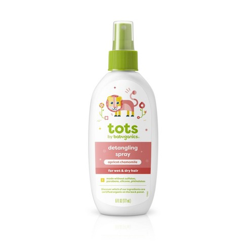 Tots by Babyganics Detangling Spray - Apricot Chamomile - 6 fl oz - image 1 of 3