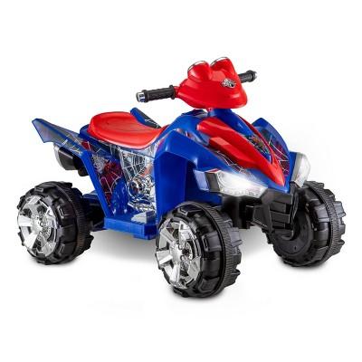 Kid Trax 6V Marvel Spider-Man ATV Powered Ride-On - Red/Blue
