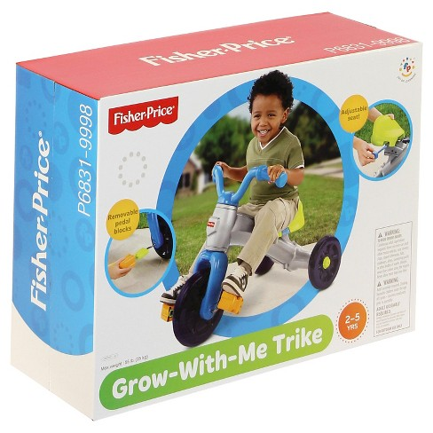 e2ac14ee7cb Fisher-Price Grow-With-Me Trike - Blue : Target