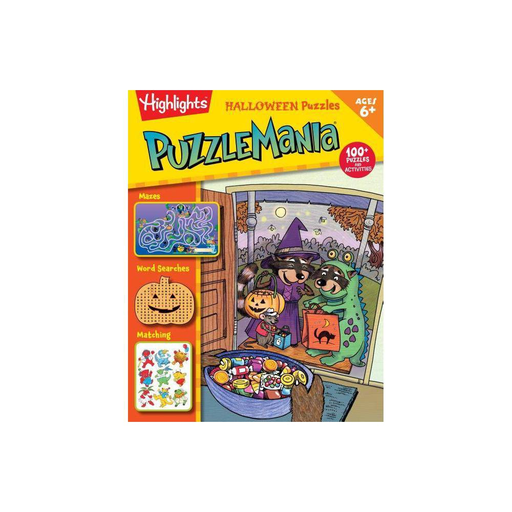 Halloween Puzzles - (Highlights Puzzlemania Activity Books) (Paperback) Promos