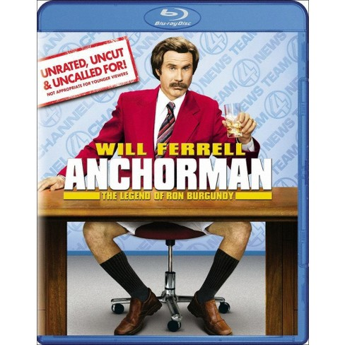 Anchorman: The Legend of Ron Burgundy (Unrated, Uncut & Uncalled For!) (Blu-ray) - image 1 of 1