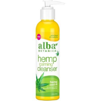 Alba Botanica Hemp Seed Oil Calming Cleanser - 6 fl oz