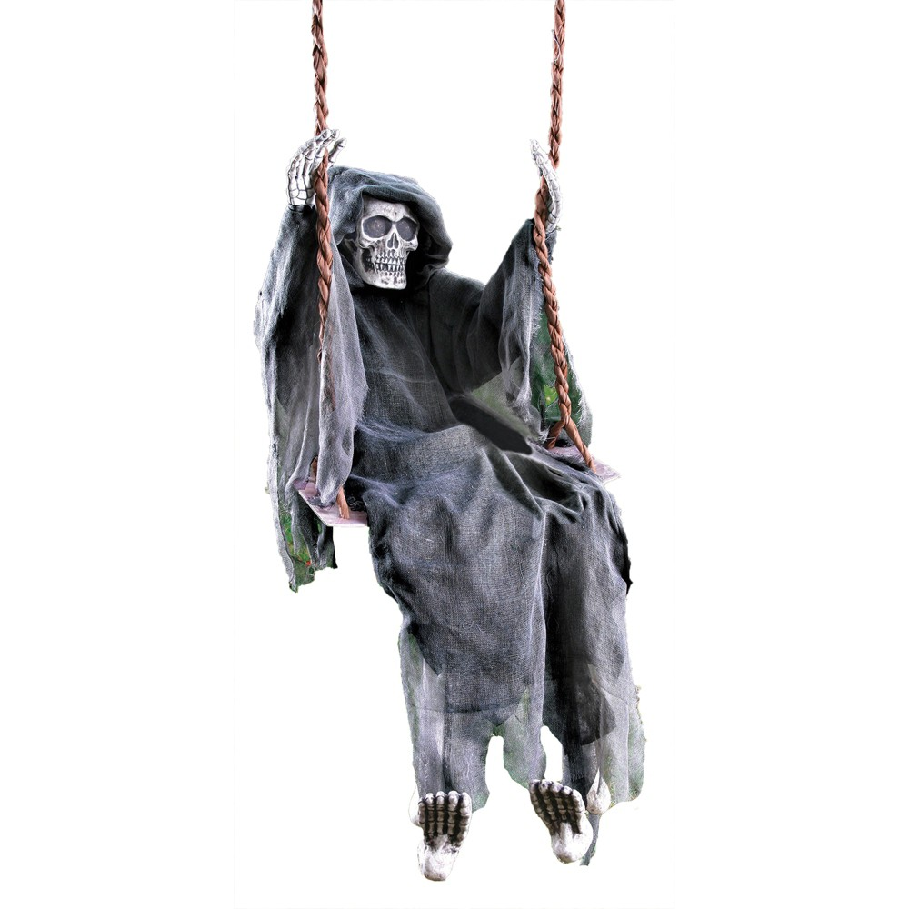 Image of 60 Halloween Swinging Reaper, Multi-Colored
