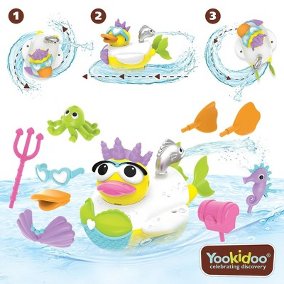 Yookidoo Jet Duck - Create Mermaid Bath Toy