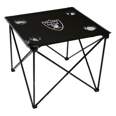 NFL Las Vegas Raiders Rawlings Deluxe TLG8 Table