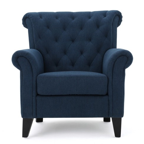 Merrit Tufted Club Chair Christopher Knight Home