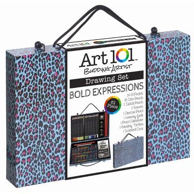 Art 101® Drawing Set 61pc - Bold Expressions