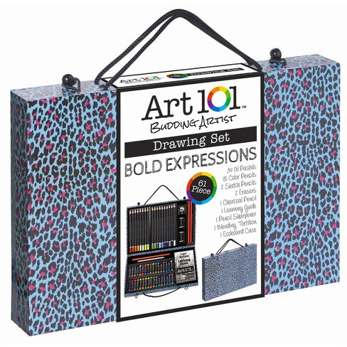 Art 101® Drawing Set 61pc - Bold Expressions - image 1 of 2