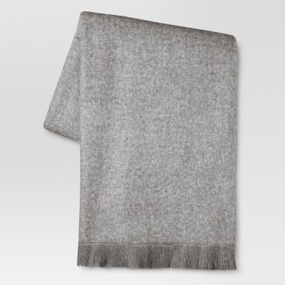 Gray Seagull Throw Blanket (50 x60 )- Threshold™