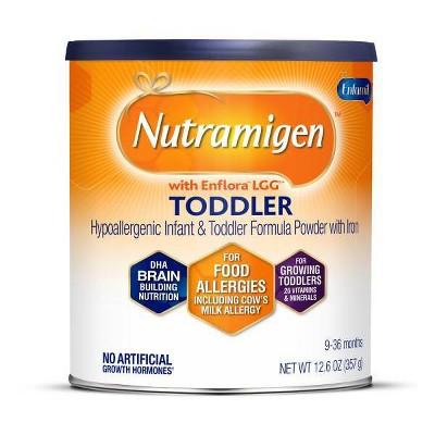 Enfamil Nutramigen Toddler Hypoallergenic Formula Powder - 12.6oz