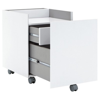 Niche Mobile File Cabinet With Locking 2 Drawer   Calico Designs