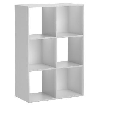 6 - Cube Organizer 35.38  - White - Homestar