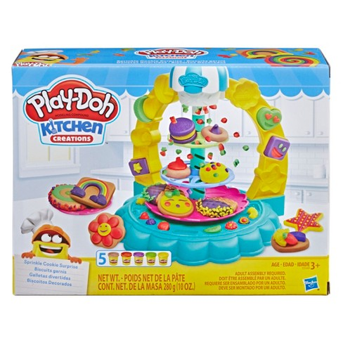 Play-Doh Kitchen Creations Sprinkle Cookie Surprise Play Food Set with 5 Non-Toxic Play-Doh Colors - image 1 of 8