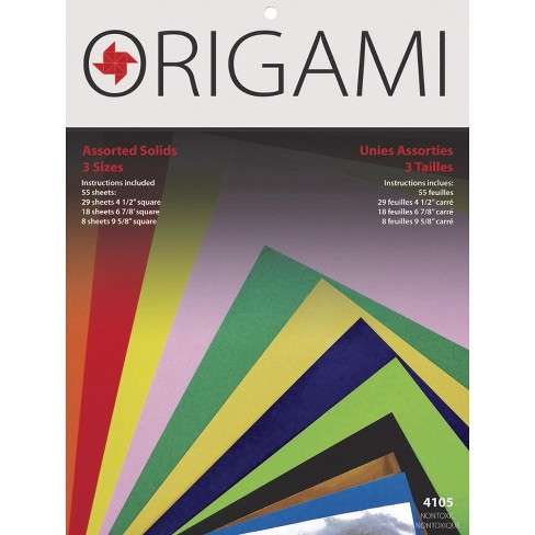 Yasutomo Origami Paper, 4-1/2 to 9-5/8 Inches, 55 Sheets - image 1 of 1