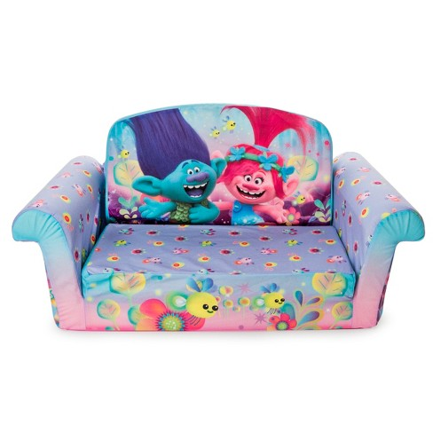 Marshmallow Furniture Children S 2 In 1 Flip Open Foam Sofa Dreamworks Trolls