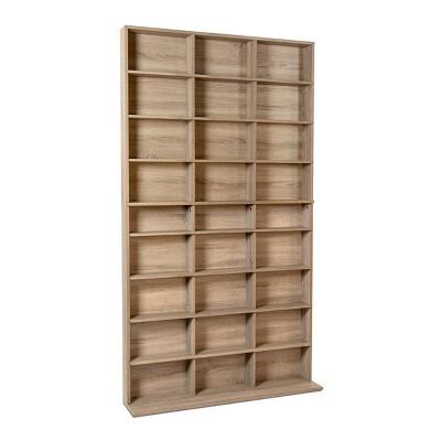Elite Media Storage Cabinet Weathered Oak - Atlantic